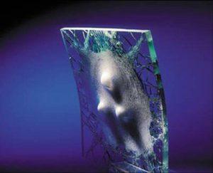 Shatterproof glass for home windows
