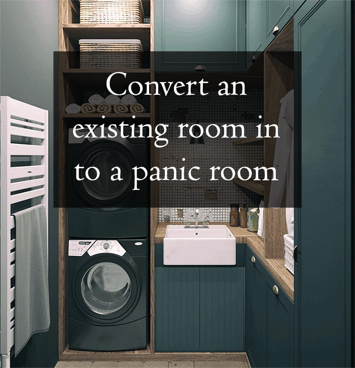 how to build a safe room in an existing home